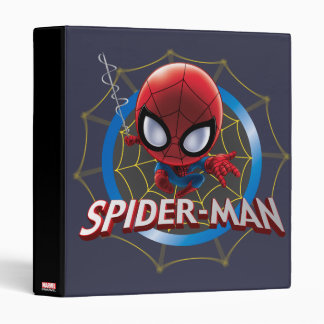 Mini Stylized Spider-Man in Web Binders