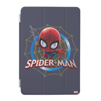 Mini Stylized Spider-Man in Web iPad Mini Cover