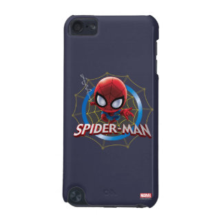 Mini Stylized Spider-Man in Web iPod Touch (5th Generation) Covers