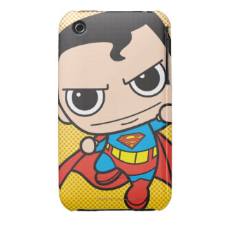 Mini Superman Flying iPhone 3 Case
