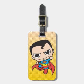 Mini Superman Flying Luggage Tag