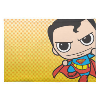 Mini Superman Flying Placemat