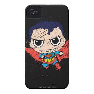 Mini Superman Sketch iPhone 4 Case-Mate Case