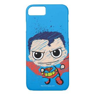 Mini Superman Sketch iPhone 7 Case