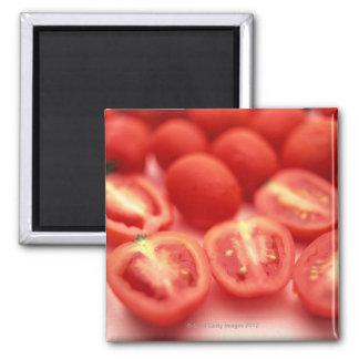 Mini-tomato Square Magnet