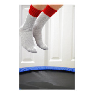 Mini Trampoline Jumping Stationery