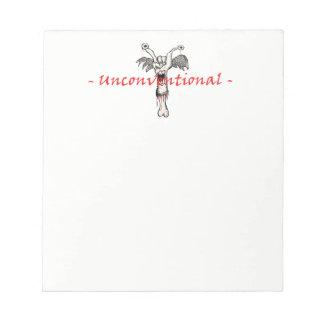 "Mini ""Unconventional"" Note Pad"