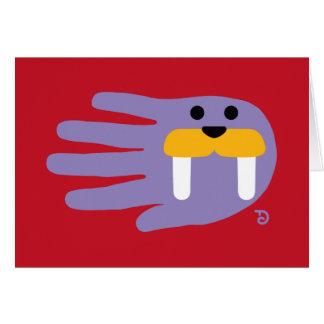 Mini Walrus Card