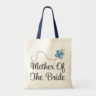 Mini Wedding Day Mother of the Bride Blue Tote Bag