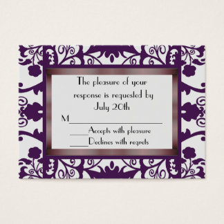 Mini Wedding Response Cards