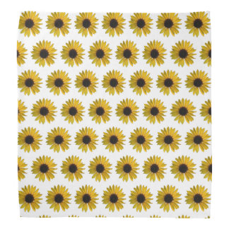 Mini Yellow Sunflowers Bandana
