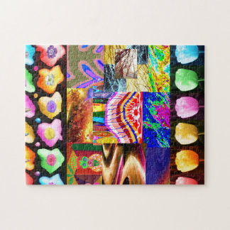Miniature ART Collage : Ideal GIFT Collection Jigsaw Puzzle