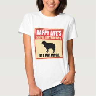 Miniature Australian Shepherd T Shirts