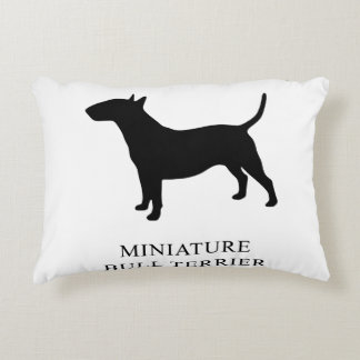 Miniature Bull Terrier Accent Pillow
