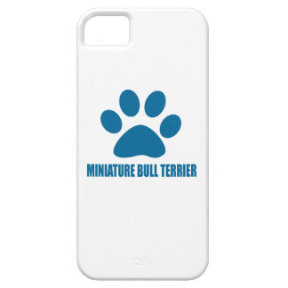MINIATURE BULL TERRIER DOG DESIGNS iPhone 5 COVER