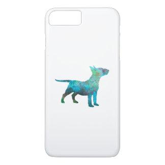 Miniature Bull terrier in watercolor iPhone 8 Plus/7 Plus Case