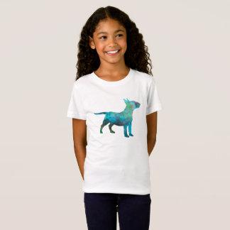 Miniature Bull terrier in watercolor T-Shirt