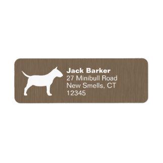 Miniature Bull Terrier Silhouette