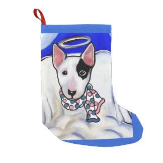 Miniature Bull Terrier Small Christmas Stocking