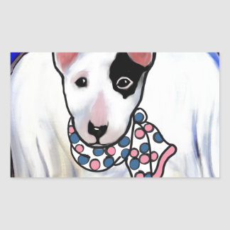 Miniature Bull Terrier Sticker
