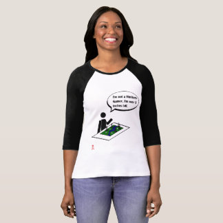Miniature Gamer Women's Raglan T-shirt
