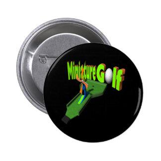 Miniature Golf 2 Inch Round Button