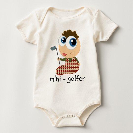 Miniature Golfer Baby T-shirt