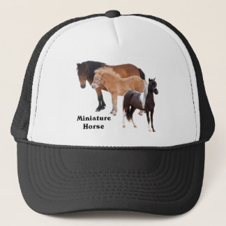 Miniature Horse mug design Trucker Hat