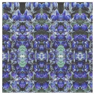 Miniature Lupine Fabric