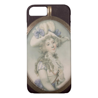 Miniature of an Unknown Woman iPhone 7 Case