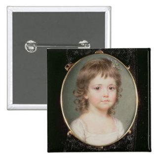 Miniature of Dorothy Capper 2 Inch Square Button