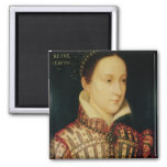 Miniature of Mary Queen of Scots, c.1560 Refrigerator Magnet