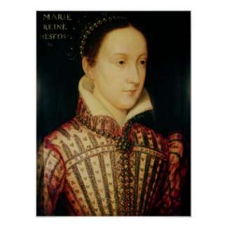 Miniature of Mary Queen of Scots, c.1560 Poster