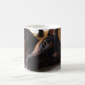 Miniature pin shear coffee mug