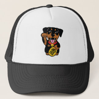 Miniature Pinscher Blk Min Pin Lucky Dog Owner Hat