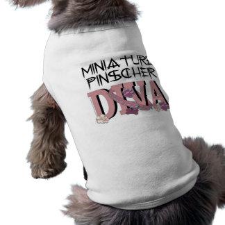 Miniature Pinscher DIVA Pet T-shirt
