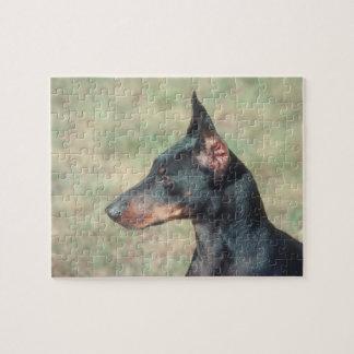Miniature Pinscher Dog Puzzle