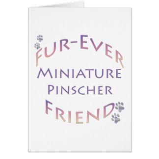 Miniature Pinscher Furever Card