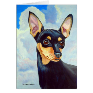 Miniature Pinscher Greeting Cards