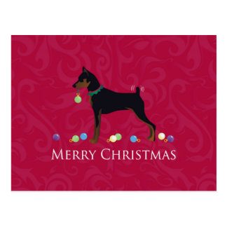 Miniature Pinscher Greetings Postcard