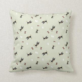 Miniature Pinscher IAAM Throw Pillow