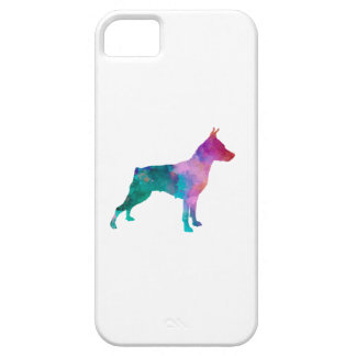 Miniature Pinscher iPhone 5 Cases