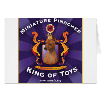 Miniature Pinscher: King of Toys Card