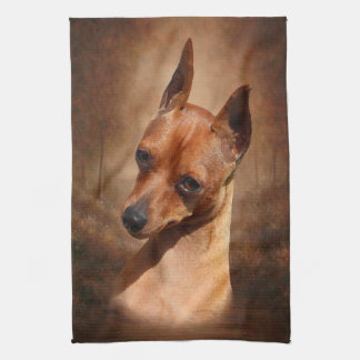 Miniature Pinscher Kitchen Towel