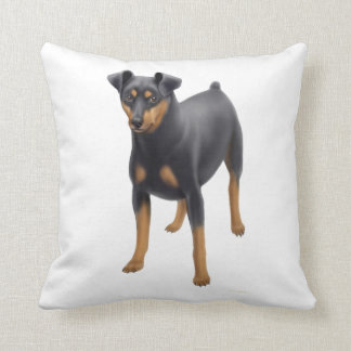 Miniature Pinscher Min Pin Pillow