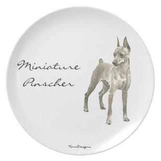 Miniature Pinscher ornament Plate