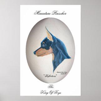 Miniature Pinscher Poster