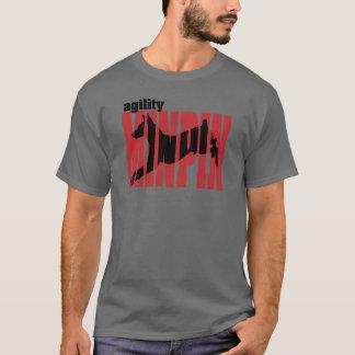 Miniature Pinscher Silhouette, Agility T-Shirt