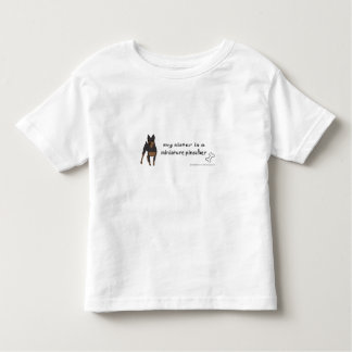 miniature pinscher toddler t-shirt
