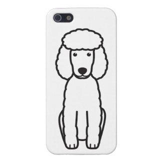 Miniature Poodle Dog Cartoon iPhone 5/5S Covers